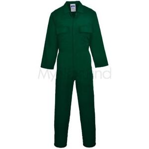 Portwest-Euro-Work-Polycotton-Coverall-S999