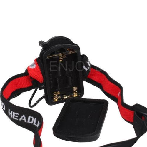 500 lumens Adjustable Focus Q5 LED Headlamp Outdoor Head Light Torch