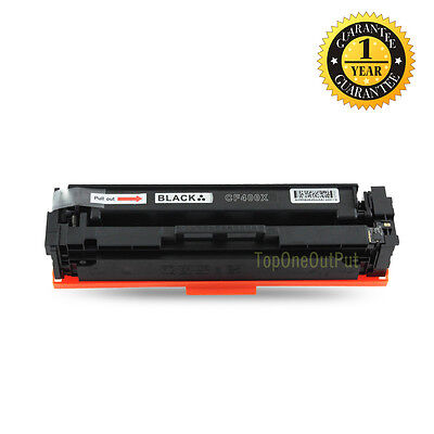2pk New CF400X 201X Black Toner fit Hp Color LaserJet Pro M252n MFP M277dw