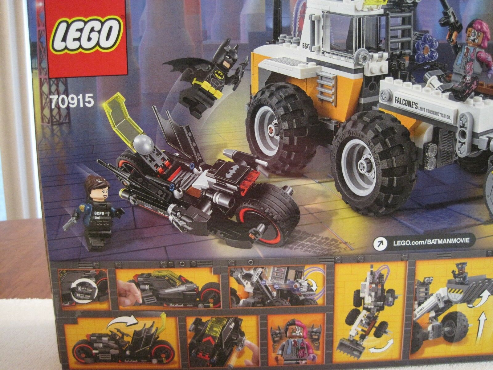 2017 LEGO THE BATMAN MOVIE TWO-FACE DOUBLE DOUBLE DOUBLE DEMOLITION--NEW-FACTORY SEALED 1baeb9