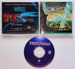 VINTAGE Torin's Passage (PC, 1995) Adventure Video Game ORIGINAL