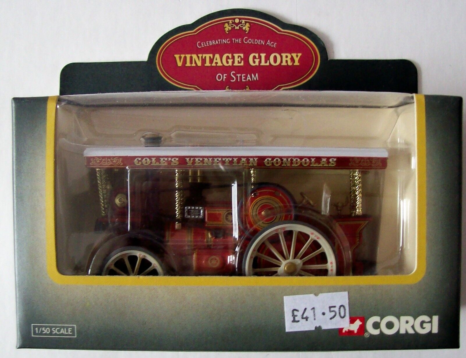 Corgi Vintage Glory Garrett 4CD Showmans Tractor Little Billy 80303 NEW