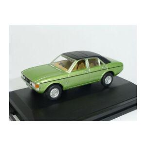 Oxford-oxf76fc004-FORD-GRANADA-verde-claro-metalico-Negro-1-76-205959-NUEVO