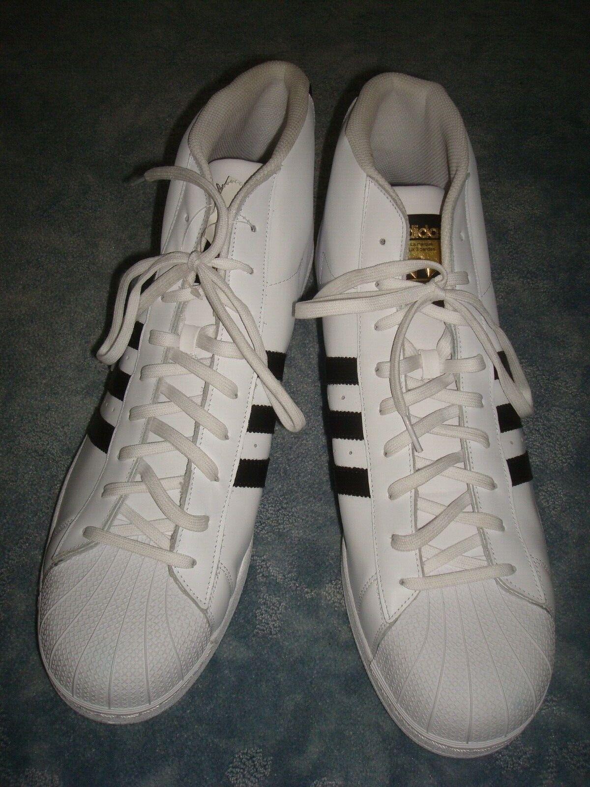 ADIDAS PRO modelo zapatillas Talla 20 US, 19 UK, 55.5 EUR