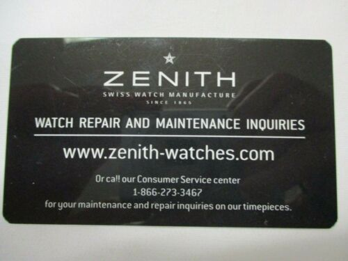 Details about  /Rare ZENITH Service Maintenance and Repair Program Information Card *Scuffed*