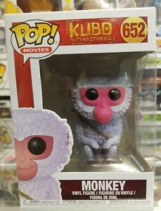 "MONKEY FIGURE #652 NEW POP MOVIES FROM /""KUBO /& THE TWO STRINGS/"""