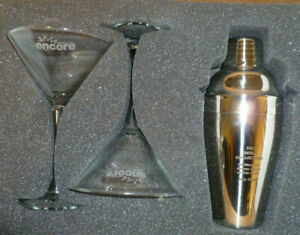 James-Bond-Collection-Martini-Set-Glasses-Shaker-Encore-Promo-Items