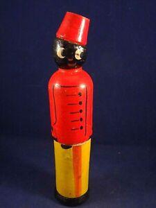 Ancien Jouet Bois Boîte Bonbons Porte Crayons Aiguilles Banania ? Groom 1920