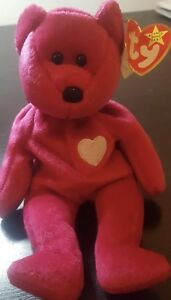 37d660d7645 Image is loading Valentina-BEAR-Ty-Beanie-Babies-5-TAG-ERRORS-