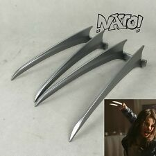 Wolverine 3 Logan X-23 Laura Kinney Claws Cosplay PLASTIC Props Halloween Gift