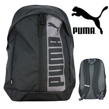 PUMA Pioneer II Backpack Sports Black 21 Litre Sports School Bag Rucksack