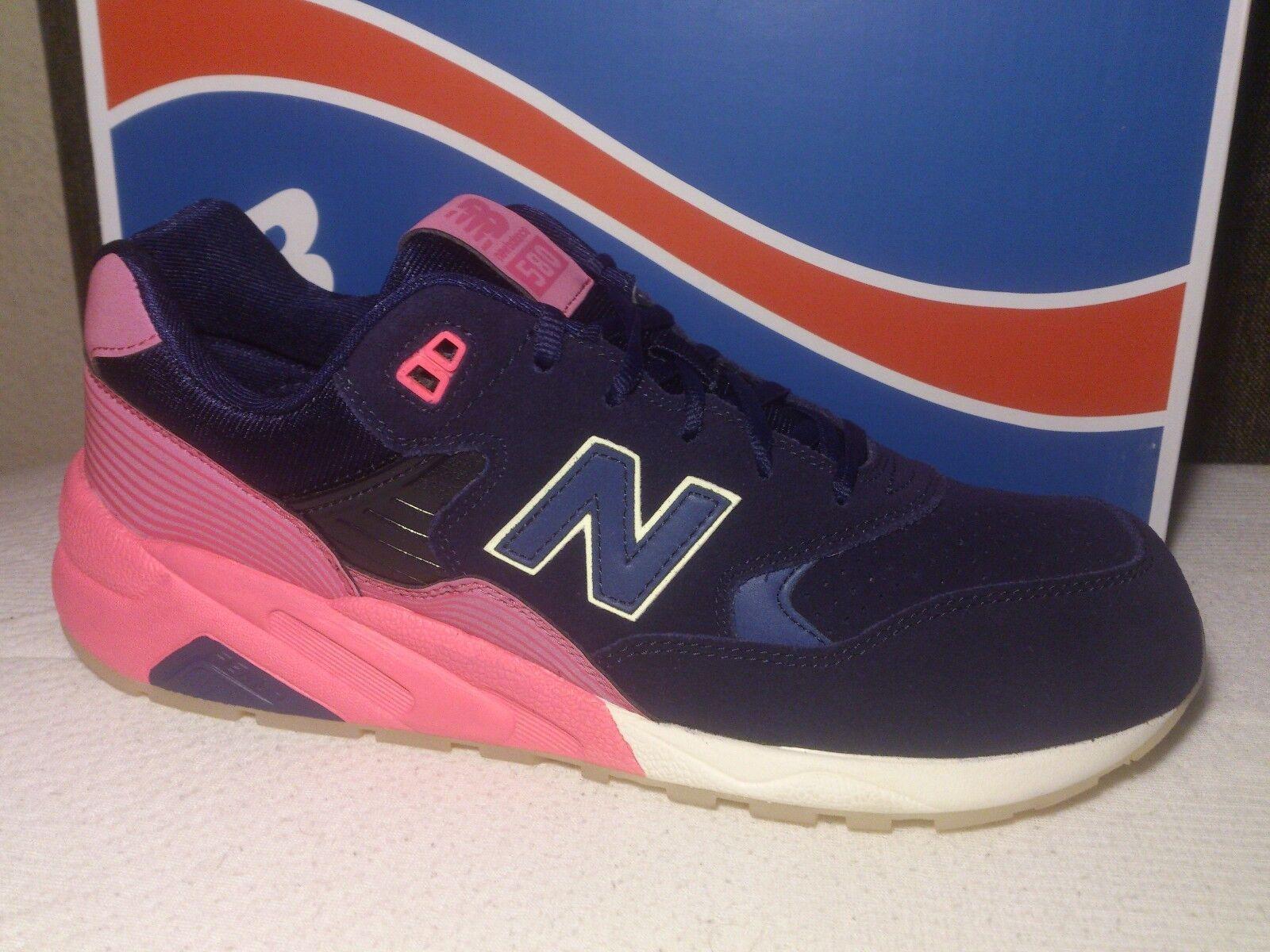New Balance MRT580UP Größe 42,5, 43, 44 Herren Schuhe Sneaker Blau Pink NEU