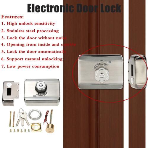 Electric Electronic Door Lock for Doorbell Intercom Access Control System HHY