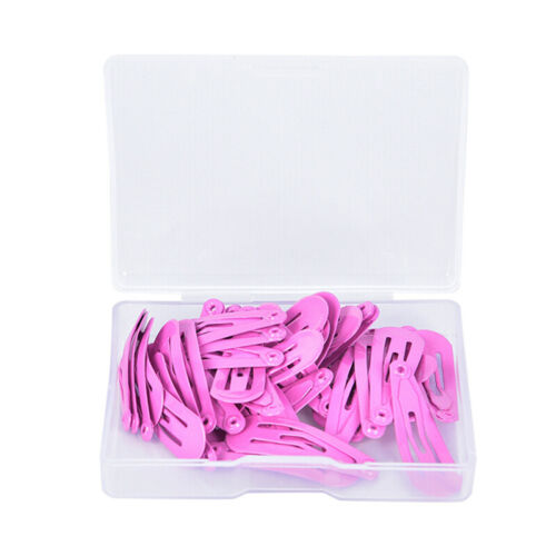 30Pcs//Box Girl Hairpin BB Snap Hair Clips Snap Barrette Hairpin  FT BCDE