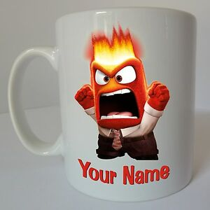 Inside-Out-Anger-Personalised-Name-Disney-Mug-Birthday-Christmas-Gift-Present