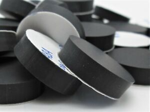 """Various Pack Sizes 3//16/"""" Thick 3M Adhesive Backing 3//4/"""" Square Rubber Bumpers"""