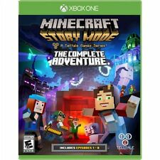 Xbox One 1 Minecraft Story Mode Complete Edition NEW Sealed REGION FREE USA Game