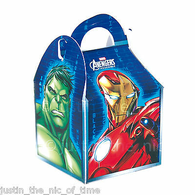 AVENGERS Party Food Boxes Children Kids Boys Birthday Loot Wedding Favour
