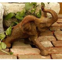 Small Elephant Outdoor Garden Statue By Orlandi Statuary Fs8161