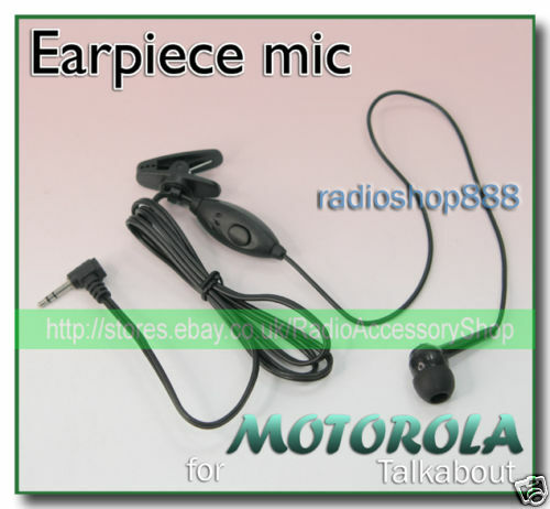 E18MT Earpiece mic with PTT for T5820 T6300 T5620 SX700