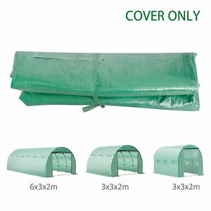 Greenhouse-Replacement-Cover-ONLY-for-Tunnel-Walk-in-Greenhouse