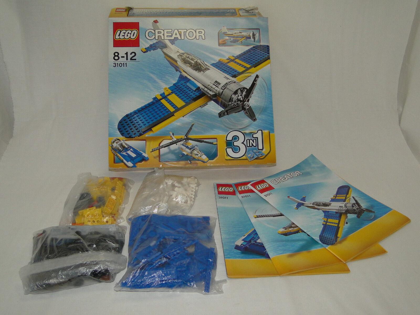 Lego Creator 31011 Flugzeug 3-in-1 komplett mit mit mit OBA + OVP f8a21e