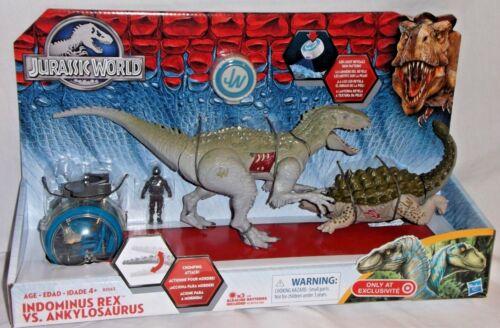 TARGET Hasbro exclusives indominus Rex Ankylosaure Dinosaur Jurassic Park World