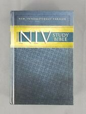 NIV Study Bible by Zondervan Staff (2008, Hardcover, Revised, New Edition)