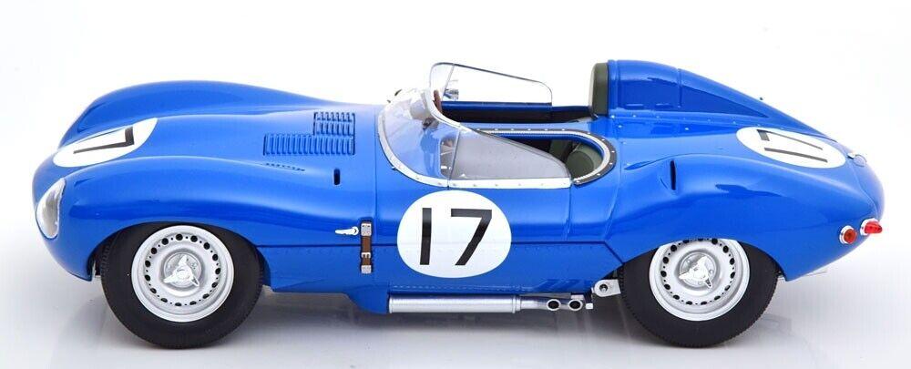 Jaguar D-Type Short Nose  17 24h Le Mans Lucas Brussin 1957 1 18 CMR diecast
