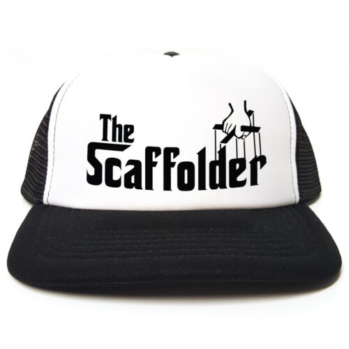 The 3 Spoof red Trucker Snapback Scaffolder Funny black Cap Colours Blue Godfather Retro r8Hwqr1ax