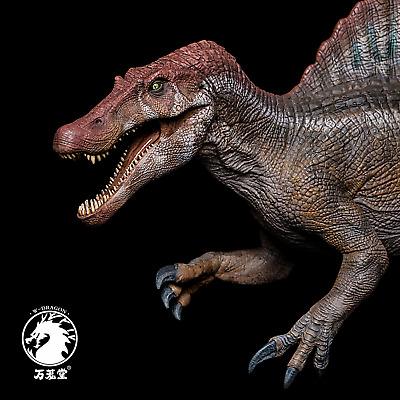 GR x LongGu 1//35 Scientific Spinosaurus Model Spino Dinosaur Collector Toy Gift