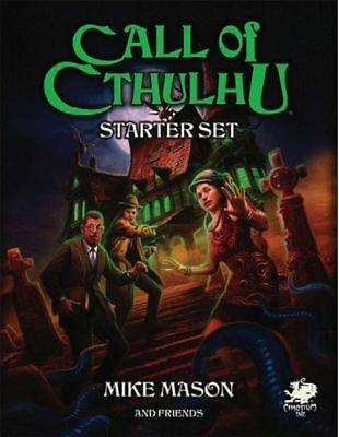 Call Of Cthulhu - Mystery And Horror Rpg - Starter Set Prezzo Moderato