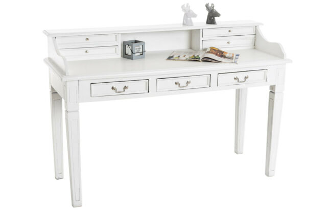 Sekretär KONSTANTIN Mahagoni Schreibtisch Holz Tisch Bürotisch Schreibpult NEU