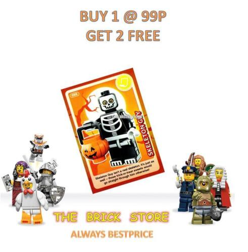 GIFT CREATE THE WORLD TRADING CARD BESTPRICE NEW LEGO #088 SKELETON GUY