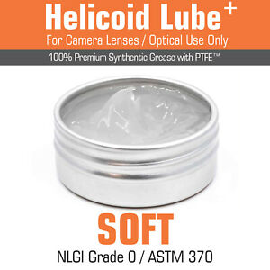 Lube Grease Vintage Camera Lens Focus Helicoid Servicing -SOFT- 5ml/15ml UK MADE