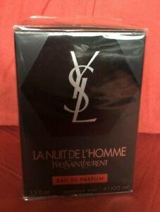 YSL Lanuit Del'Homme Eau De Parfum 100ml Yves Saint Laurent Authentic.
