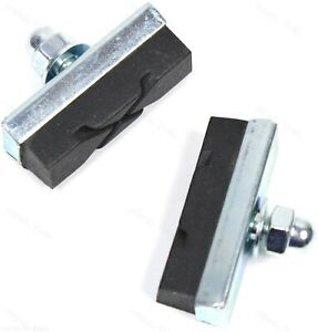 Bolt On Bicycle Bike Side Pull Brake Pads Shoes Bmx  TB