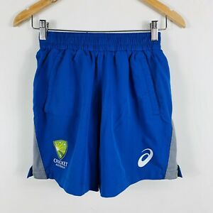 Asics-Cricket-Australia-Womens-Cricket-Shorts-Size-10-Elastic-Wiast-Training