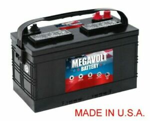 MEGAVOLT-BATTERY-12V-800CCA-STARTING-MARINE-BCI-GROUP-27M-EACH