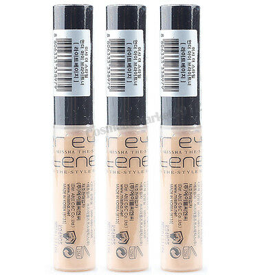 MISSHA The Style Under Eye Brightener Concealer #Light Beige (6g) 3pcs Wholesale