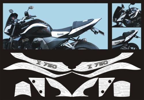 Adesivi Kawasaki Z750 K6 2006 adesivi//adhesives//stickers//decal