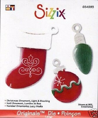 Sizzix Christmas Stocking Craft Die Cutter