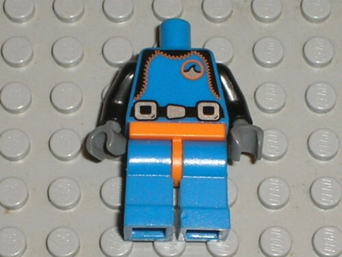Deep Sea Diver Buste jambes Personnage LEGO minifig legs Serie 1 torso