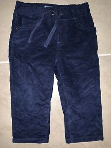 Baby-Boy-Baby-Gap-Navy-Blue-Pull-On-Soft-Corduroy-Pants-12-18-months