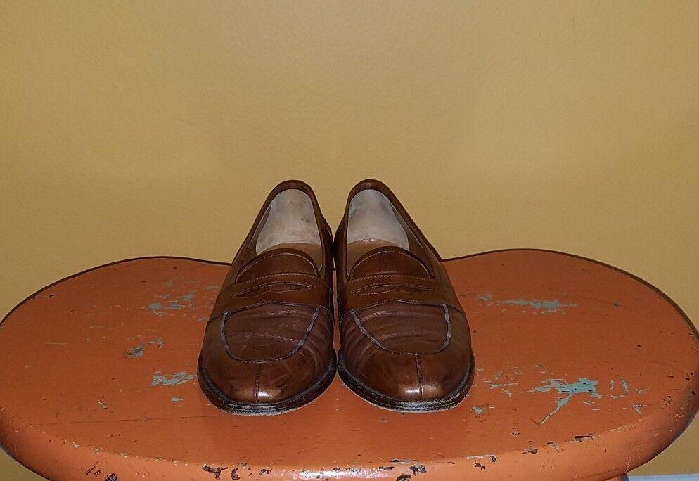 Vintage Ralph Lauren Loafers Slip On Scarpe Donna Taglia 8.5B