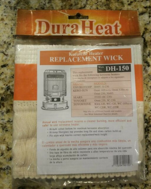 DURAHEAT Kerosene Heater 3-Pinned Replacement Wick Indoor Space Heater Accessory