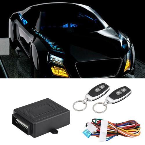 Car Door Lock Keyless Entry System Turn Light /& Power Window Remote Control Kit