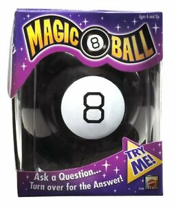 Magic 8 Ball Fortune Teller Novelty Toy Ask A Question 20 Possible Answers