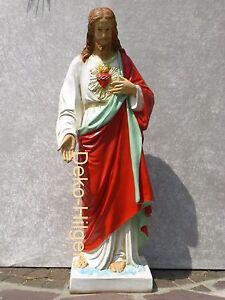 Wunderschoene-Jesus-Figur-Krippenfigur-Skulptur-Gross-Dekoration-Statue-Deko-NEU