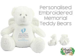 Memory Teddy Bear Personalised Gift Keepsake